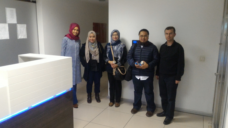 Our guests were visiting Malaysian Koza .