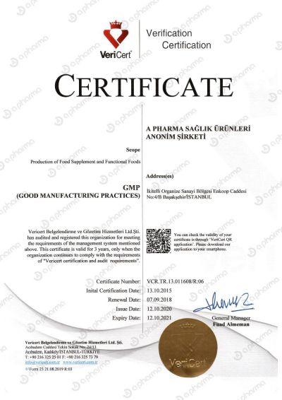 Certificate GMP