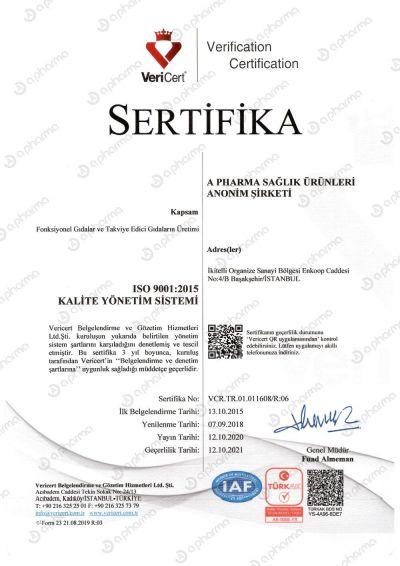 Sertifika 9001