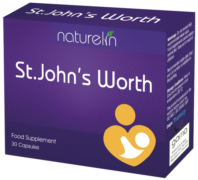 NATURELIN  ST.JOHN'S WORTH 30 CAPSULE
