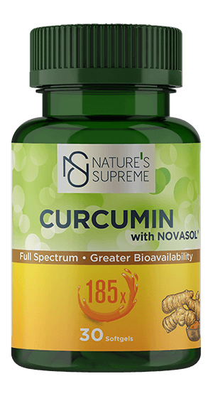 NATURE'S SUPREME CURCUMIN 30 SOFTGEL
