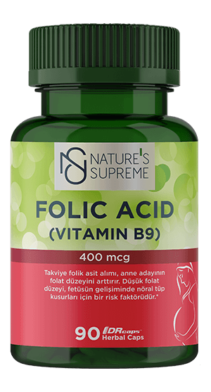 NATURE'S SUPREME FOLIC ACID 90 CAPSULE