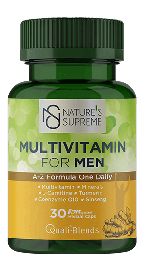 NATURE'S SUPREME FOR MEN MULTIVITAMIN 30 KAPSÜL