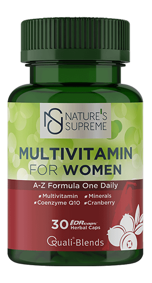 NATURE'S SUPREME FOR WOMEN MULTIVITAMIN 30 KAPSÜL